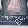 Vogue doll in box, pink dress